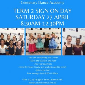 Term 2 Sign On Day