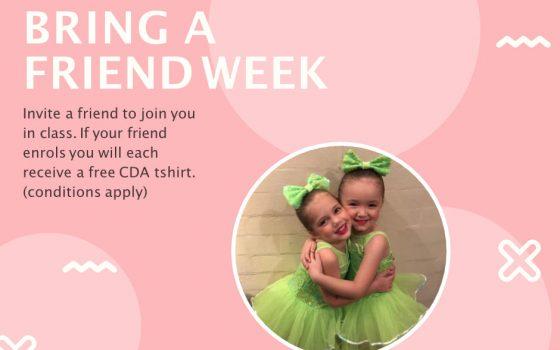 Bring a friend week