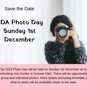 CDA Photo Day 1st Dec 2019