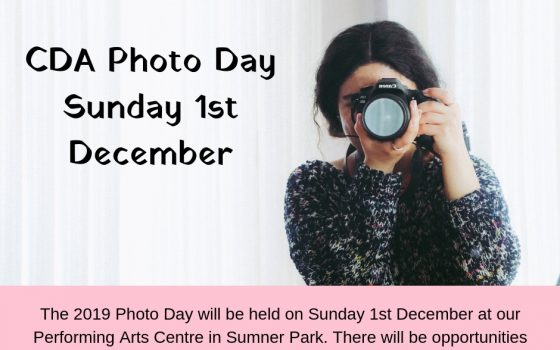 CDA Photo Day 1st Dec 2019