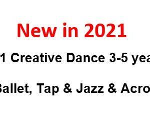 New in 2021